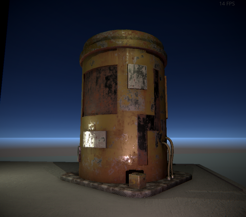 Rusted Water Tank - Unity Forum