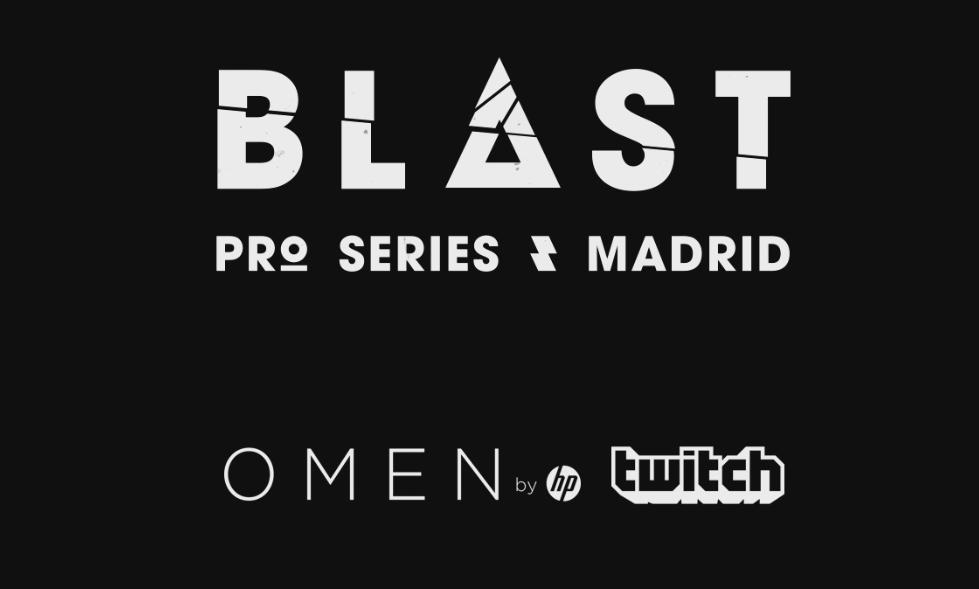 BLAST Pro Series Madrid se jugará los días 10 y 11 de mayo en el Madrid Arena.