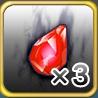 魔水晶x3