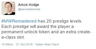 20 Prestige's confirmed and 1000 Level's? 8108b48d2bbc040f0cb4bf0083a88eee