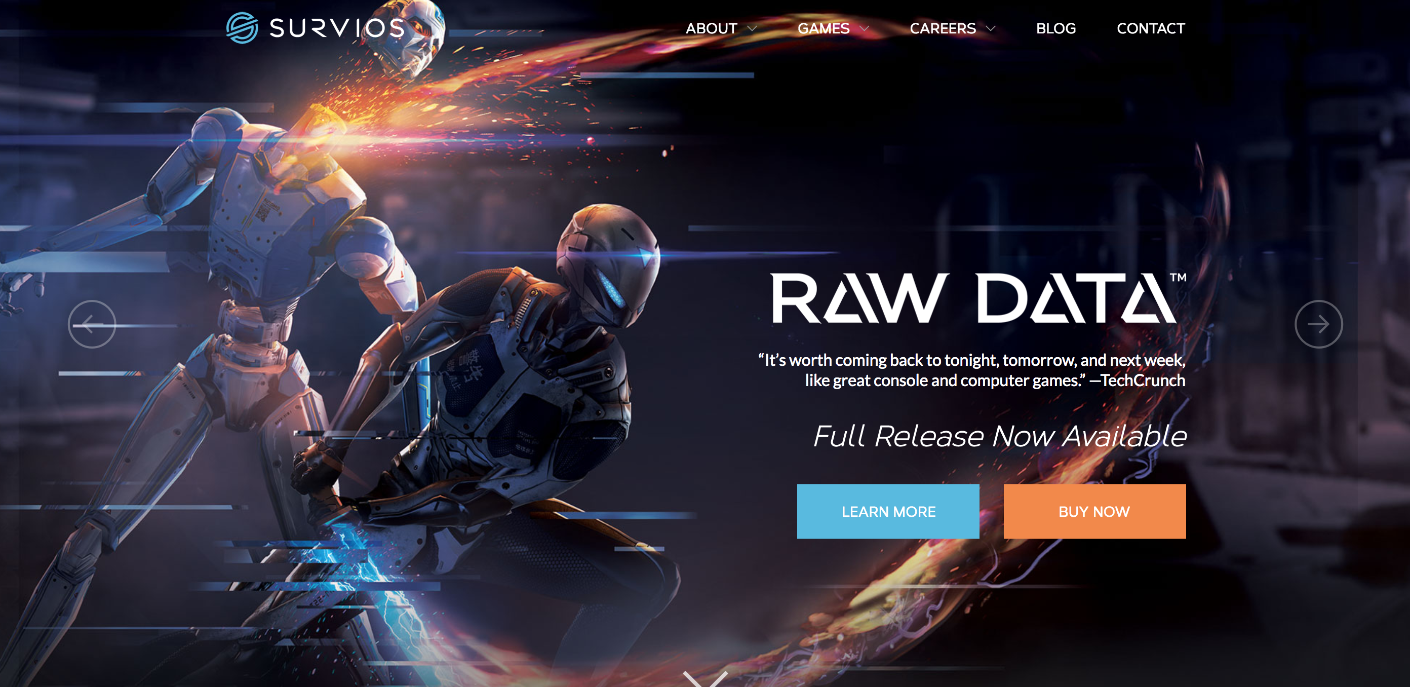 Raw Data Survios