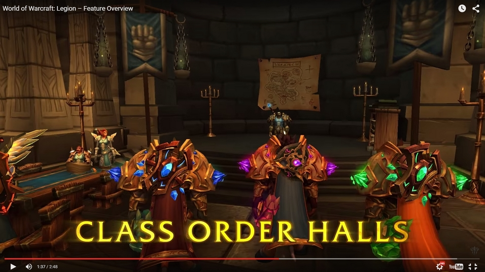 Draenor map inside of class order hall for Terrace of the endless spring location