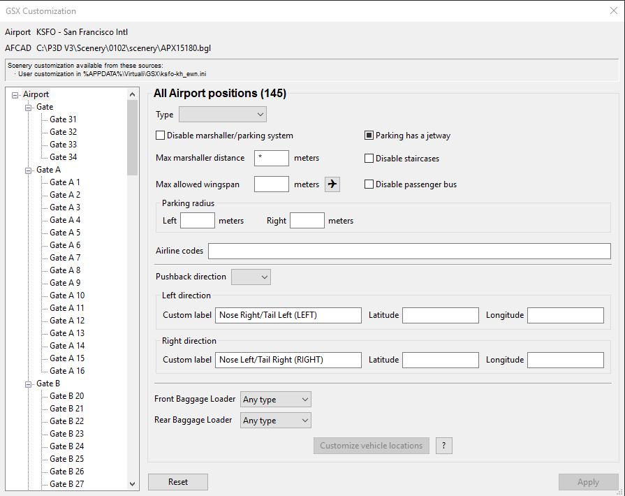 Flightbeam KSFO-HD V2 Afcad issue - P3D V3 4