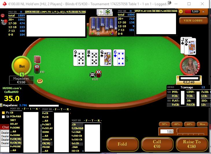 Poker bovada hud