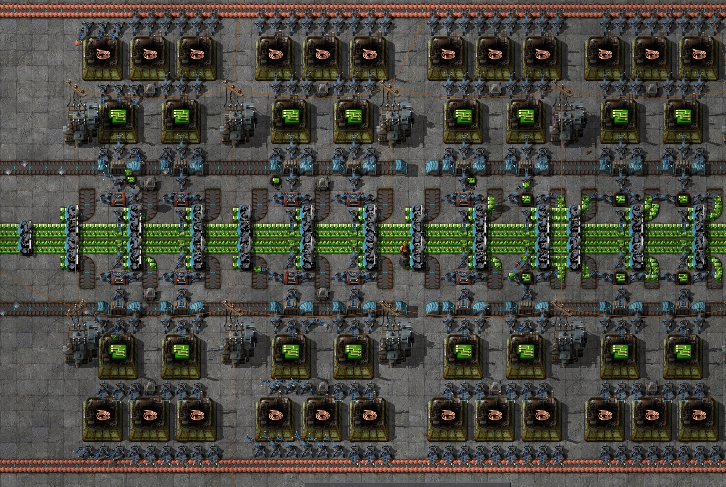 concept expandable bus layout factorio