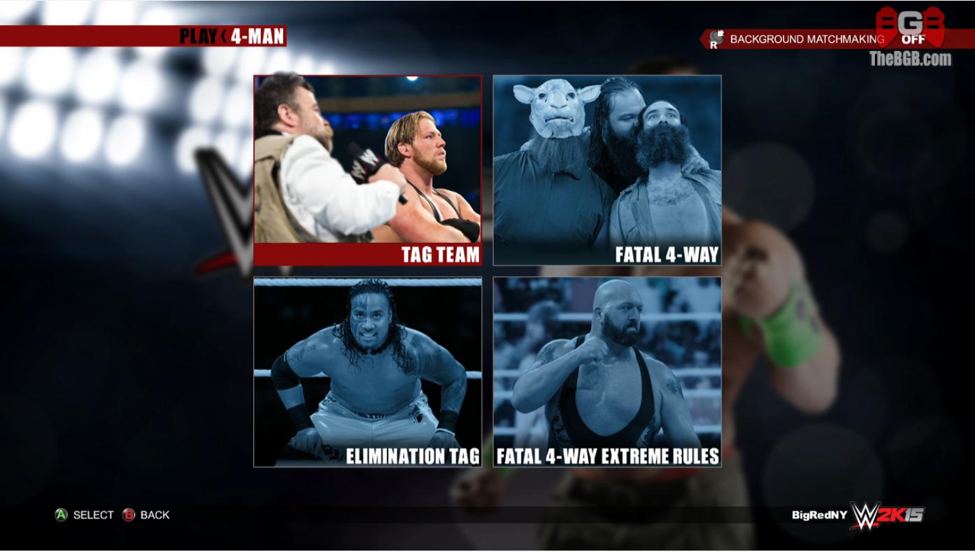[WWE2K15] Liste des stipulations DISPONIBLE 843334f91d8738e3c2e1f113bb518e55