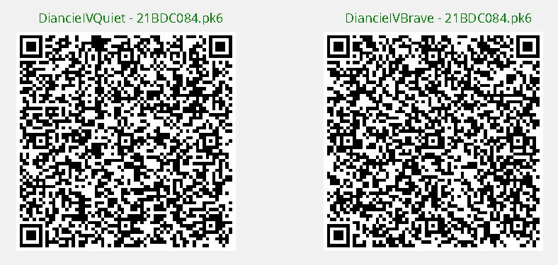 Legit Diancie QR Code : PokemonQRCodes