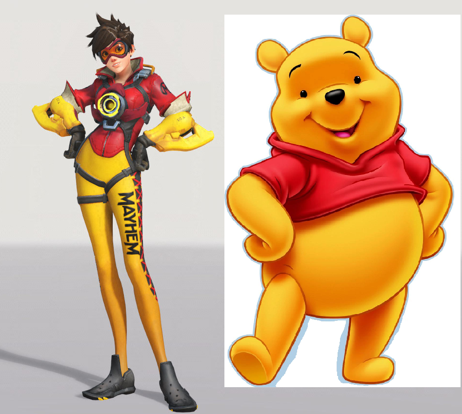 I knew the Florida Mayhem Tracer skins reminded me of something...https://i.gyazo.com/85aa4cebb26dd7b6039e073a31ab525b.png  Question is who would be Tigger with a Philadelphia Fusion skin?