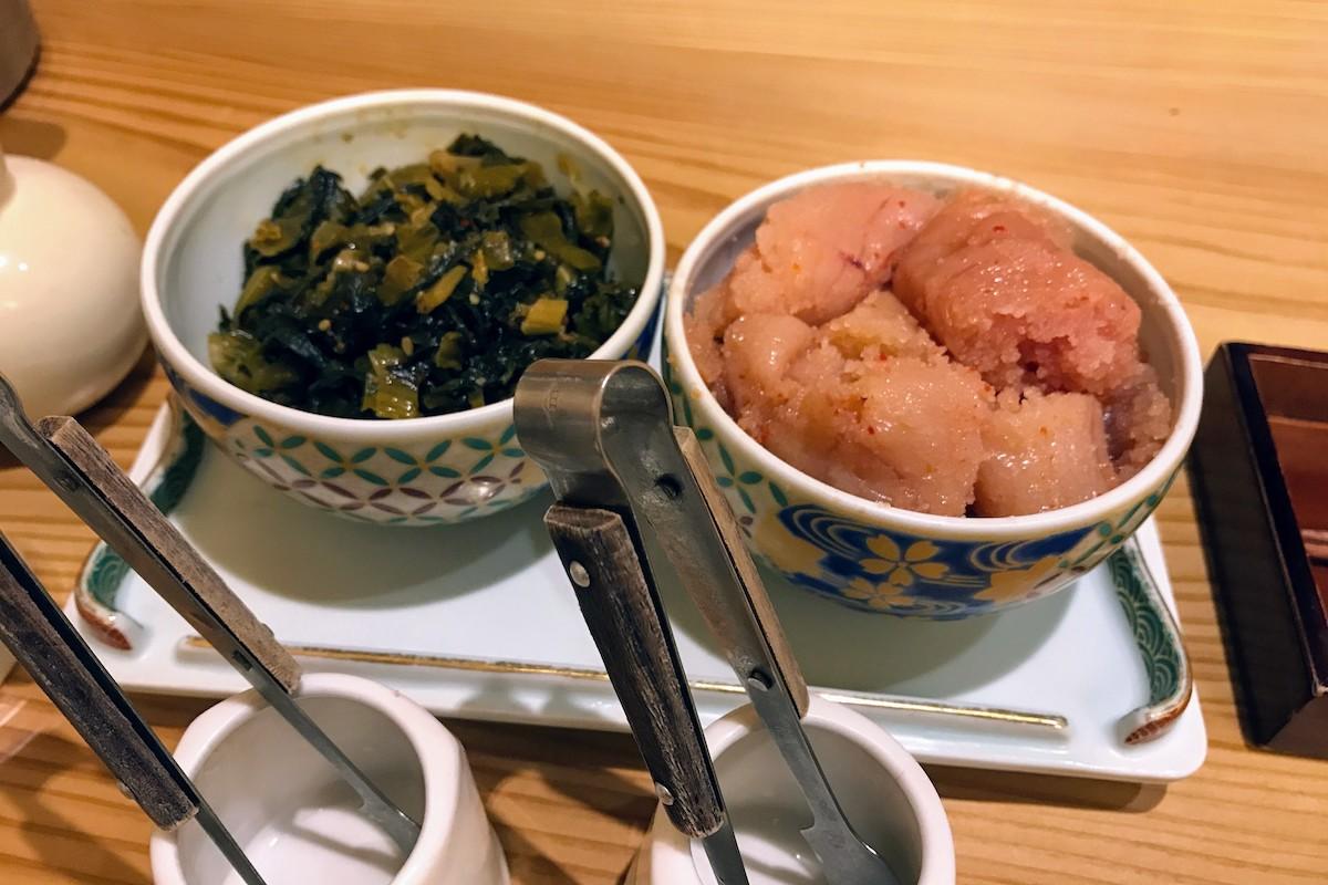 ウィング川崎 やまや 明太子と高菜