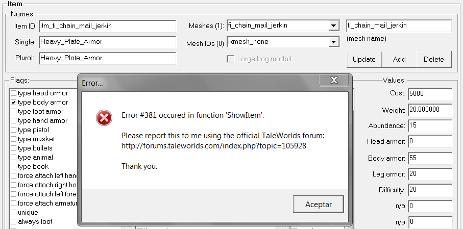 Ayuda con Morgh's, importar items a un modulo  877d2f1217d49b00dc3132e3a292419c