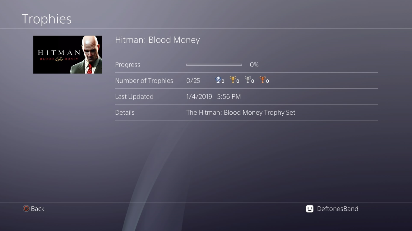 Hitman Hd Enhanced Collection Trophy List Revealed Unreleased Games Psnprofiles