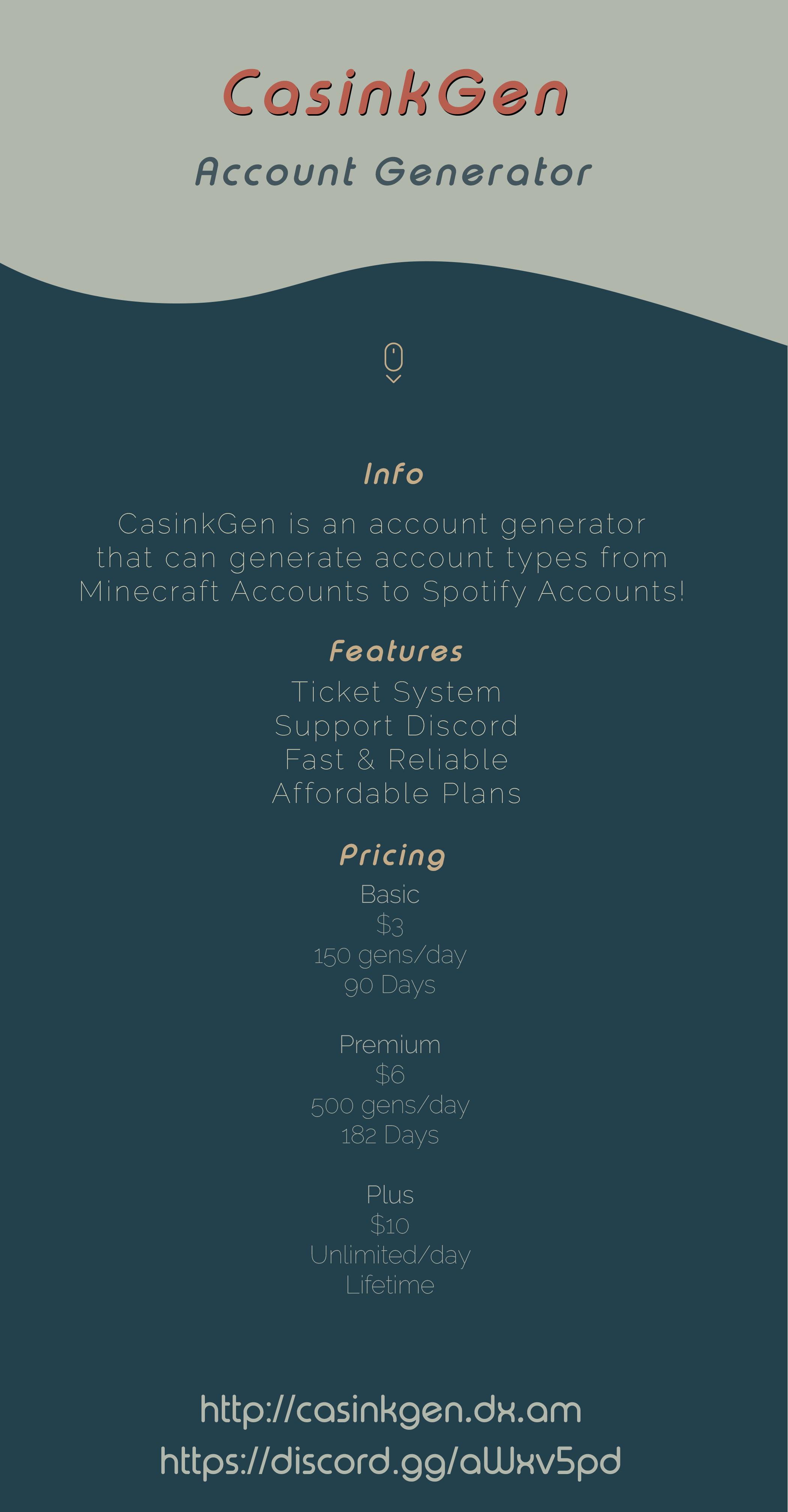 AD] Account Generator