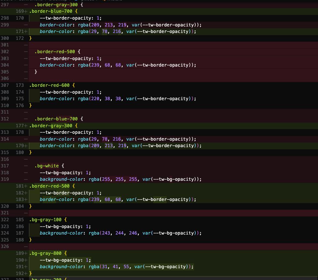 jitモードとそうでないときの生成されたコードのdiff写真