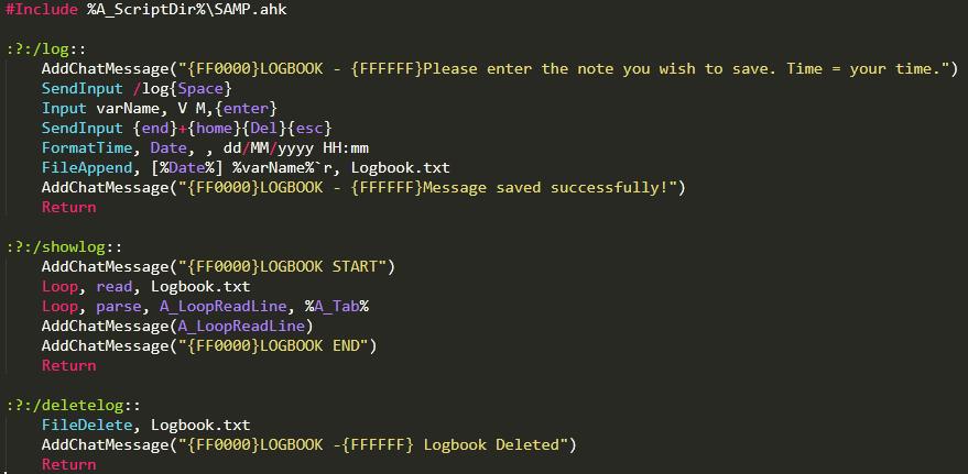 Autohotkey Keybind Script