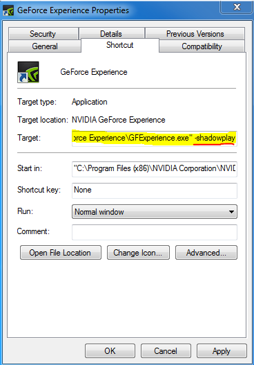 Shadowplay does not regognize my CPU! - GeForce Forums