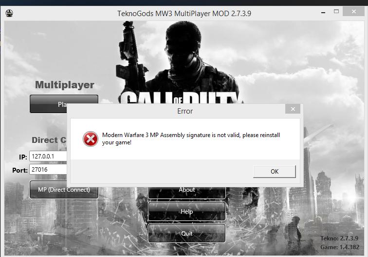 call of duty modern warfare 2 multiplayer crack teknogods