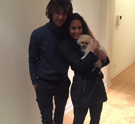 Nathan Aké with beautiful,  Kaylee Ramman