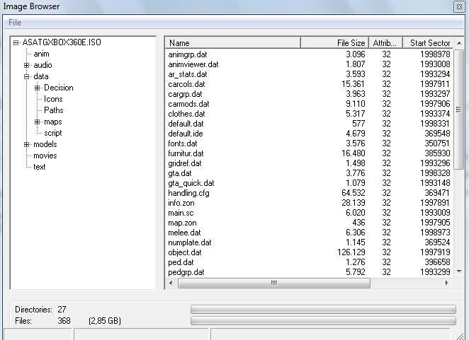 GTA SA Xbox ISO modding  | Se7enSins Gaming Community