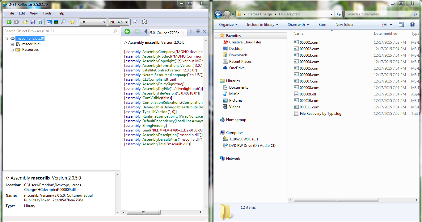 Help - Find hidden assembly-csharp dll unity file? - Libre Boards