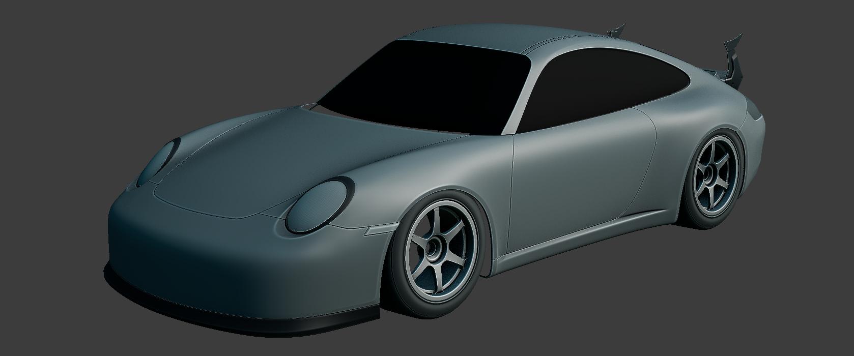 997.1 GT3- Car Render Challenge 2020