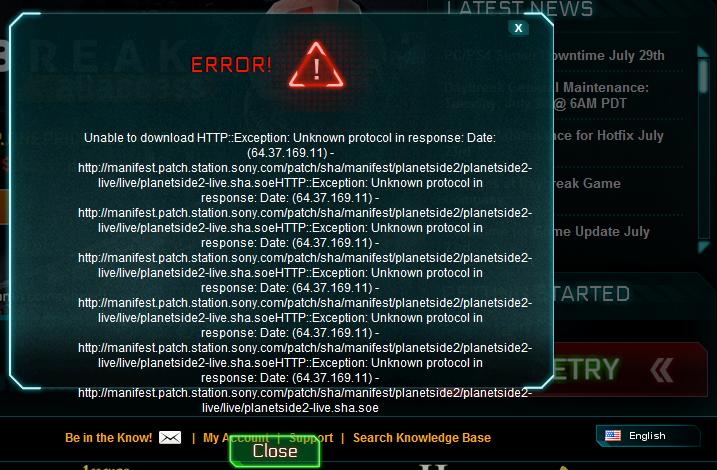 Blank launchpad problem help:(   planetside 2 forums.