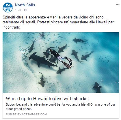 Partecipa subito al concorso North Sails!