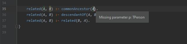 Missing Parameter