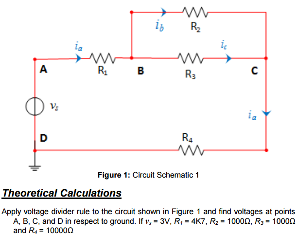 solved 16 2 r1 b r3 r4 figure 1 circuit schematic 1 theo rh chegg com