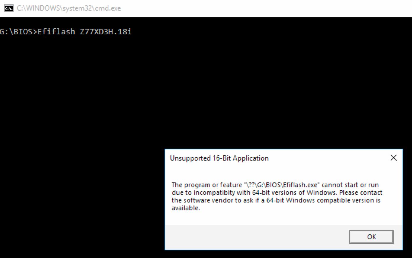 Asus Nvidia GeForce GTX 1060 (6GB) GPU - Windows has stopped