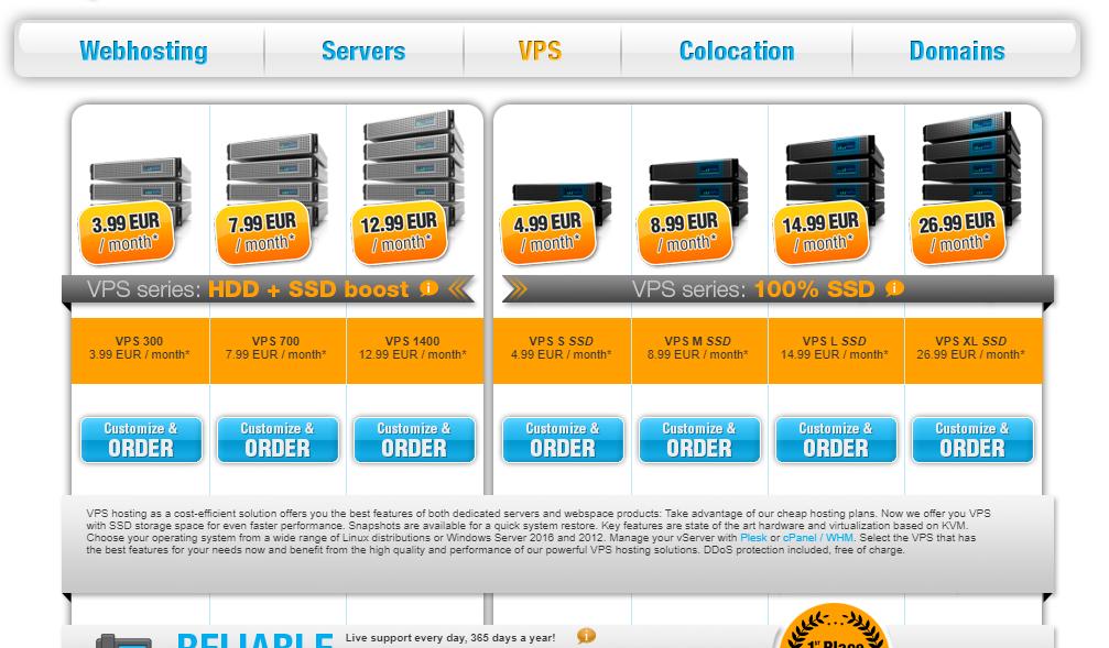 Vps economicos windows y linux de buena capacidad