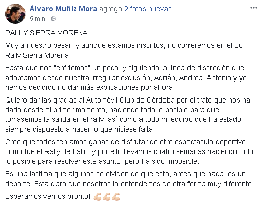 CERA: 36º Rallye Sierra Morena - Internacional [12-14 Abril] - Página 2 91a86090af7d86c00b21951b06c6b0d5