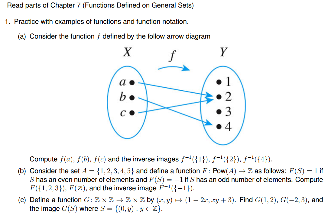 Arrow diagrams discrete math online introduction to electrical read parts of chapter 7 functions defined on gene chegg com rh chegg com calculus arrow diagram arrow diagram math relations ccuart Gallery