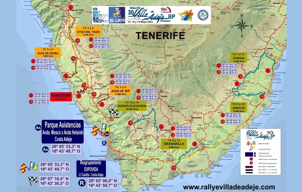 SCER: 30º Rallye Villa de Adeje BP Tenerife - Trofeo Cicar [13-15 Mayo] 9337bc6674acdbd2d7e93fbf5742c606