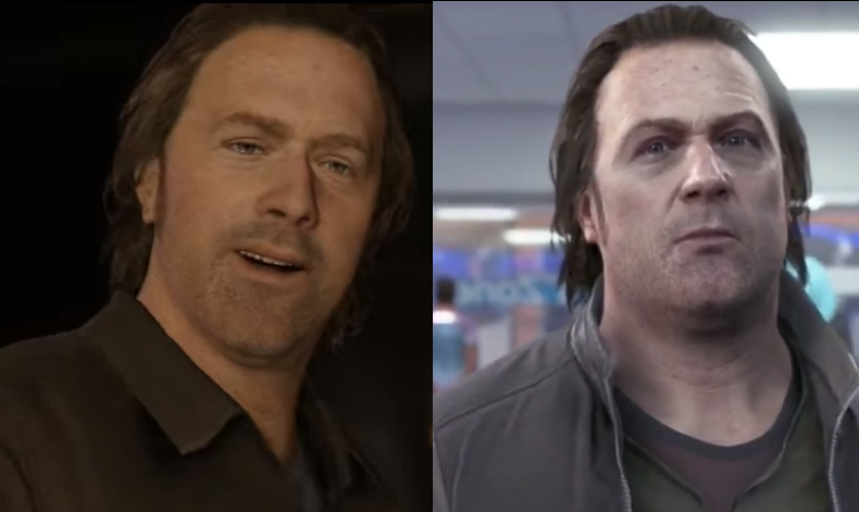 DetroitRewatching Beyond 2 Souls And Saw A Familar Face From Become Human Igyazo