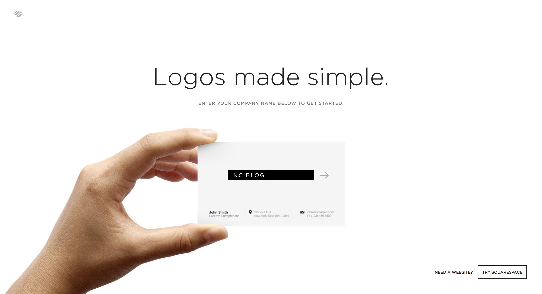 Logo Makerトップページ