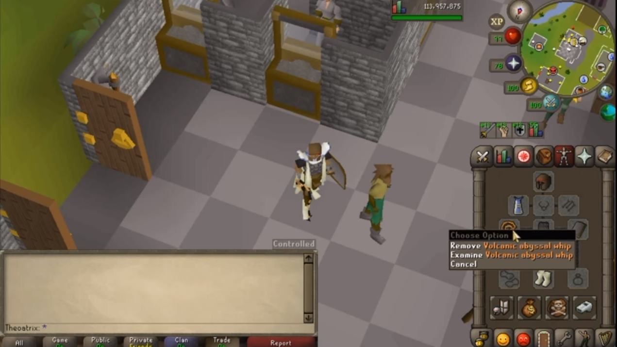 Whip Mixes Make Whip Untradable (OldSchool Runescape | Tips