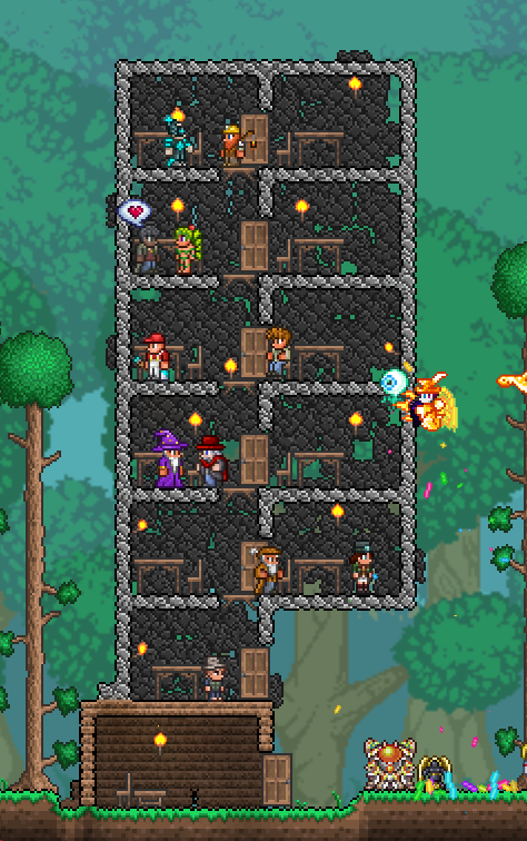 Tips For Making Nice Looking Houses Bases Terraria