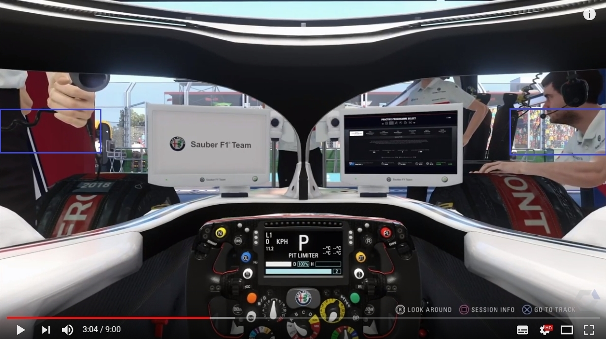 F1 2018 suggestion - Alternative mirror option - General Discussion