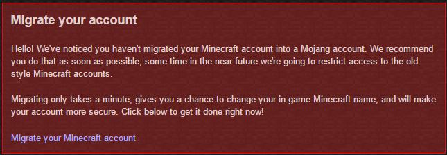 Unmigrated Minecraft Names