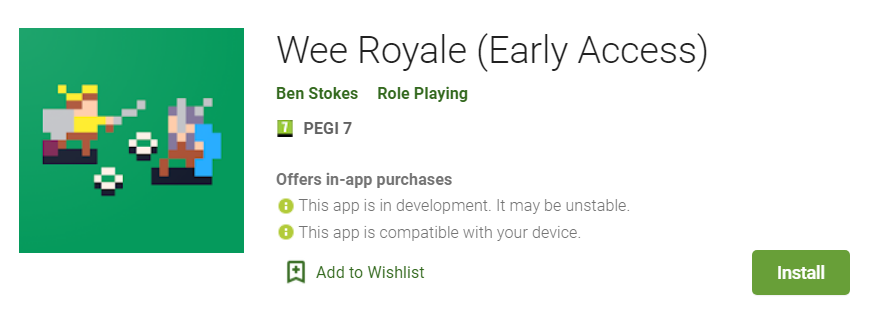 wee royale google play store