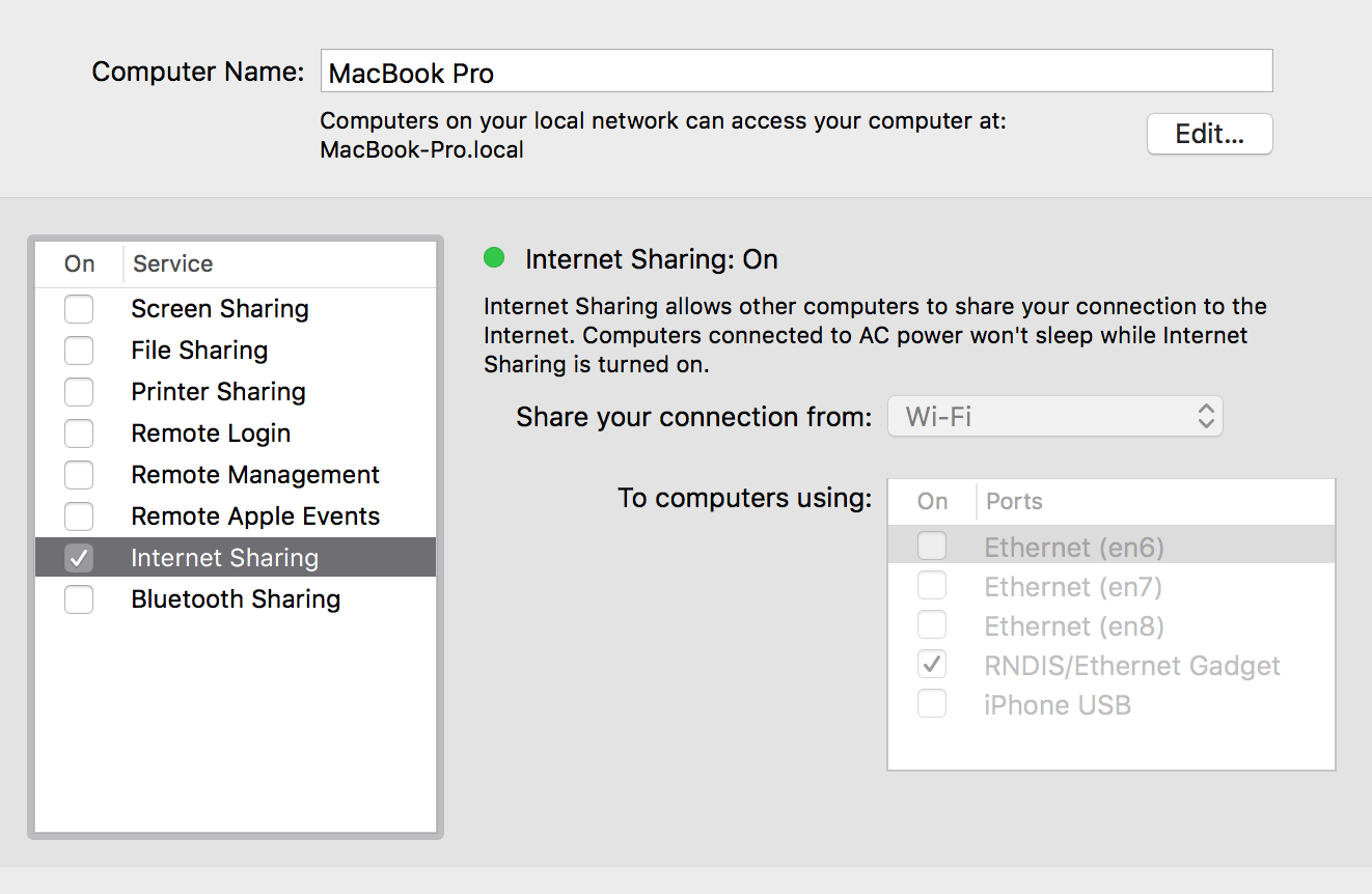ICS on my Mac