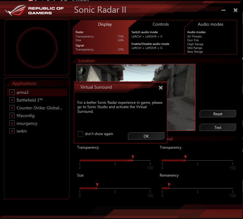 Sonic Radar Demo 720 - YouTube