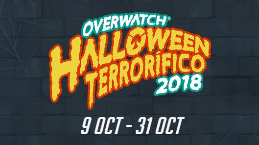 Cartel promocional del evento de Halloween 2018