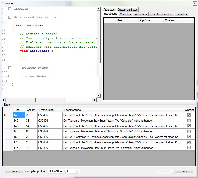 Tutorial] Decompiling and Patching a Unity3D Game DLL