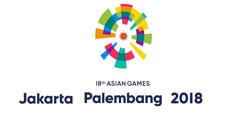 Cartel promocional de los Juegos Asiáticos de Yarkarta 2018