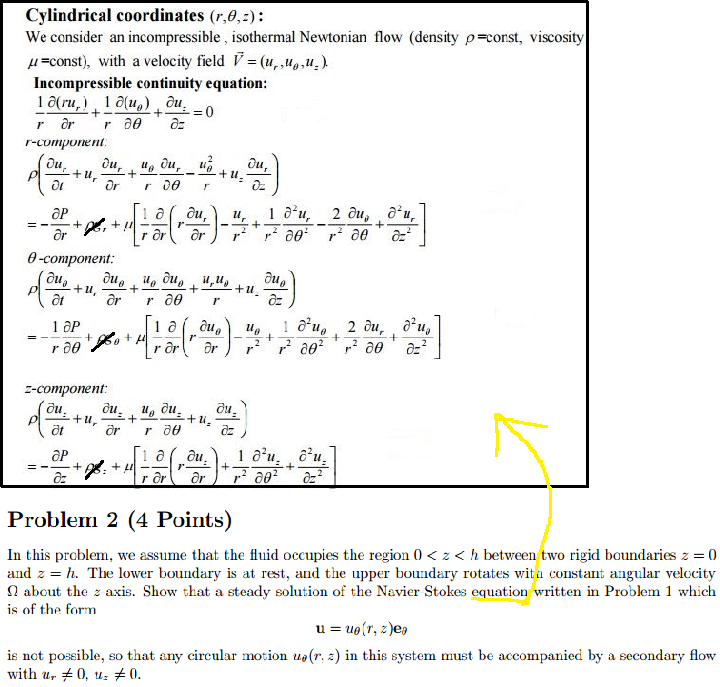 fluid dynamics problems and solutions pdf