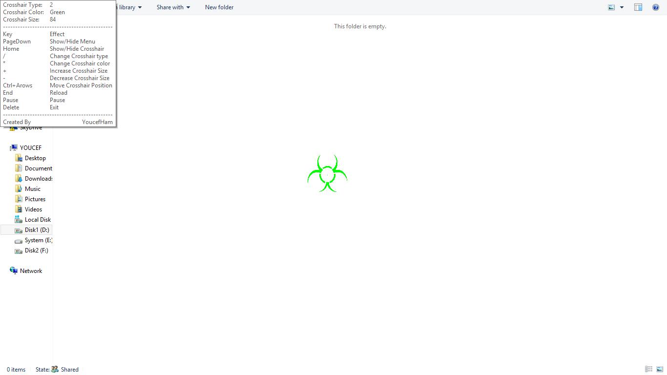 escape from tarkov crosshair overlay