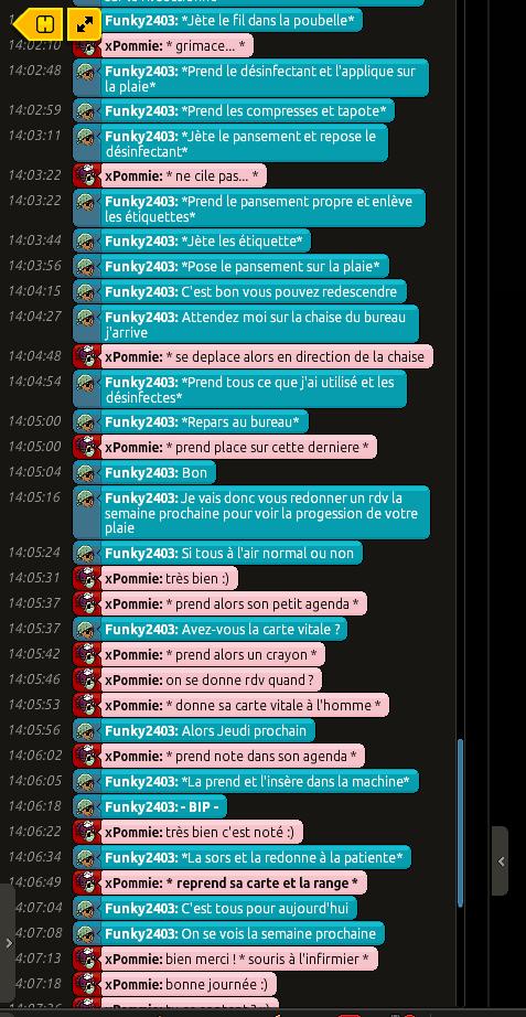 {C.H.U} Rapport d'actions RP De Funky2403 9d244a7a3515c86da74277ce485f8324