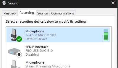 Teamspeak 3 issues, Microphone not detected  (RESOLVED