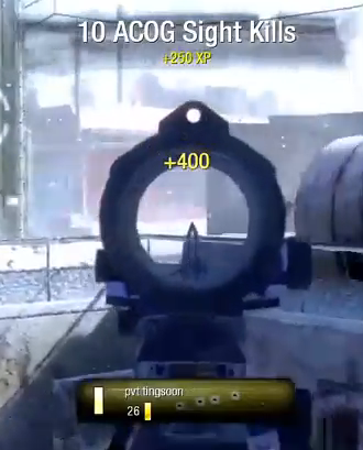 Sexy Sniping Black Ops L96A1 Acog 30-7 ARESRM. 5:36.